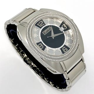 Korloff - Limited Edition Stainless Steel Watch with 200...