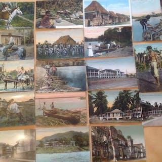Panama - Ethnology (Ethnic / Ethnographic Postcards)...