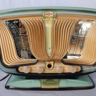 SNR55- Excelsiorin prachtstaat TOP condition - Tube radio