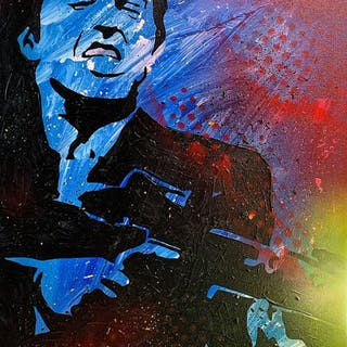 Alvin Silvrants - Scarface Tony Montana say hello to my little friend