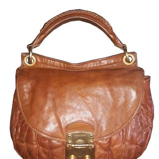 Miu Miu - Nappa Matelassé Handbag