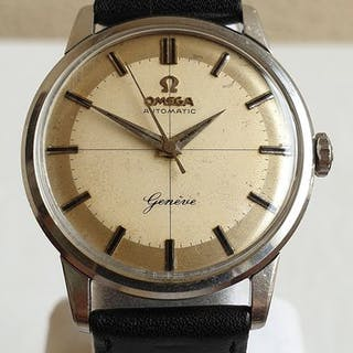Omega - Geneve - Automatic - Crosshair Dial - Caliber 552...