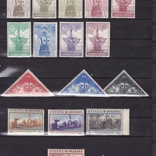Spanien 1930 - Discovery of America - Edifil 531/546