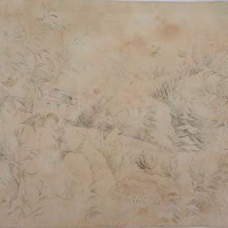 André Lhote (1885-1962) - Maison en forêt