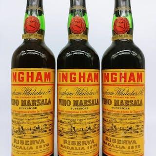 "1870 Solera - Ingham Whitaker ""Racalia"" - 3 bottles (0.68L)"