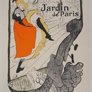 Henri de Toulouse Lautrec - Jane Avril (Jardin de Paris)