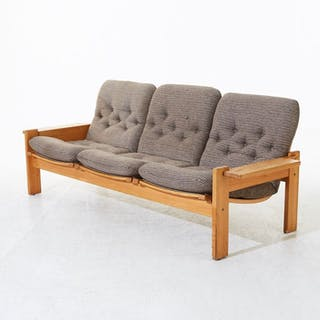 Yngve Ekström - Swedese - 3-seater vintage couch
