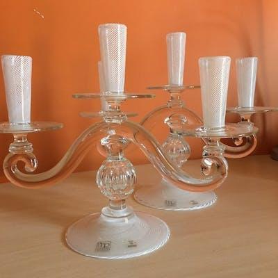 bibierre murano - candelabri (2) - Vetro