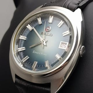 "Rado - ""NO RESERVE PRICE"" Space Wing Automatic Vintage..."