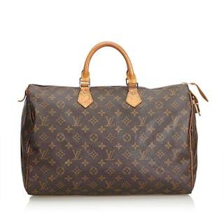 Louis Vuitton - Monogram Speedy 40 Boston Bag