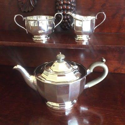 Tea Pot Sugar Bowl And Milk Jug