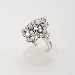 DAMIANI - HRD Certificate - no reserve price - 18 carati...