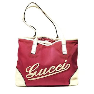 44b098003 Gucci - Cruise Canvas Tote Shoulder bag