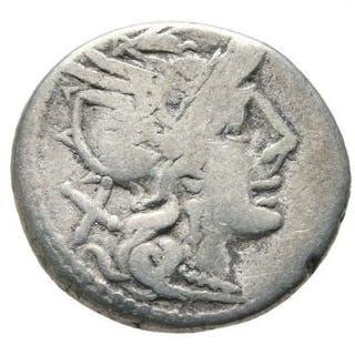 Repubblica romana - Denarius - Anonymous