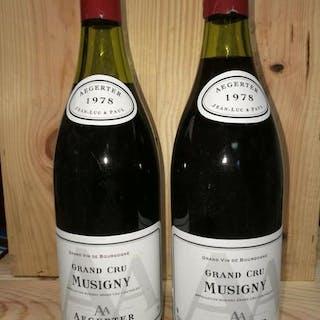 1978 Aegerter Musigny Grand Cru (vinifié par Henri Jayer)...