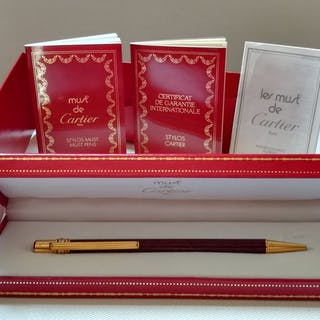 Cartier Must de Cartier - Penna a sfera - Set