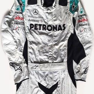 Rare Mercedes F1 Alpinestars - Formula One - Mechanics Suit