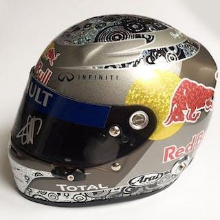 Red Bull Racing - Formula One - Sebastian Vettel - 1/2 Scale Helmet