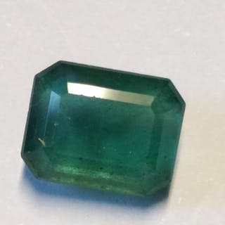 1 pcs  Smeraldo - 3.58 ct