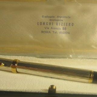 """RafaelD'Andre - Valuable fountain pen """"1776 VI"""" 925 silver"""
