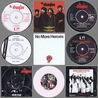 Stranglers - Diverse Titel - 7″-Single, EP - 1977/1981