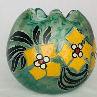"Grote bolvormige Art Nouveau vaas - ""Legras"", um 1900 in Frankreich"