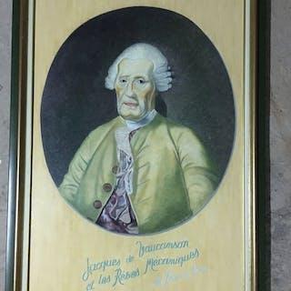 autre - Personnage Tableau Jacques de Vaucanson et les Rêves mécaniques