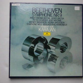 A selection of quality records with most famous artists (Von Karajan