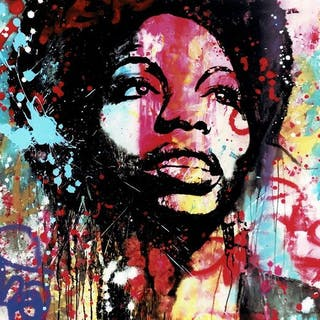 Nina Simone - Limitierte Giclée Edition 11/20 - Sergi...