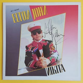 "Elton John - "" Nikita "" Signed Maxi Single - Diverse..."