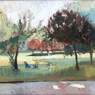 Rafael Durancamps (1891-1979) - Parque de Paris