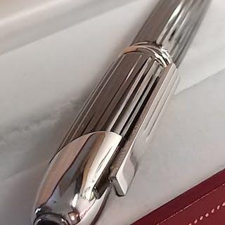 Cartier - Cartier penna stilografica Cougar in platino...
