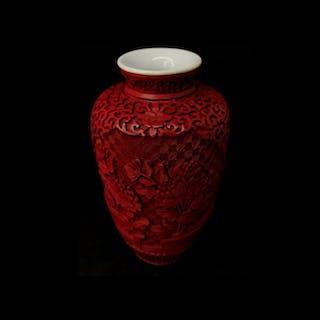 Vaso - Porcellana - Cina - Periodo repubblica (1912-1949)