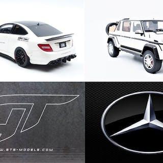GT Spirit - 1:18 - Mercedes-Benz Maybach G650 Landaulet...