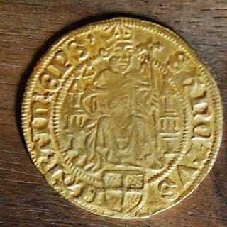 Pays-Bas - Diocèse d'Utrecht - Florin d'or au saint...