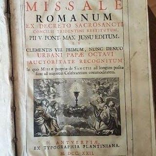 Missale Romanum - 1722