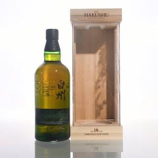 Hakushu 18 Limited Edition - 700ml