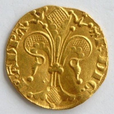 Principauté d'Orange - Raymond IV (1340-1393) - Florin d'or - Or