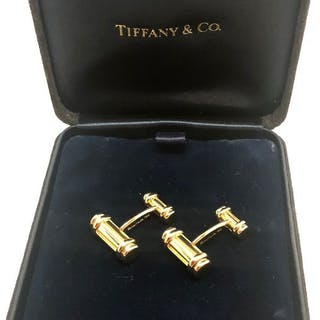 Tiffany - 18 kt. Gold - Cufflinks, Atlas collection cufflinks