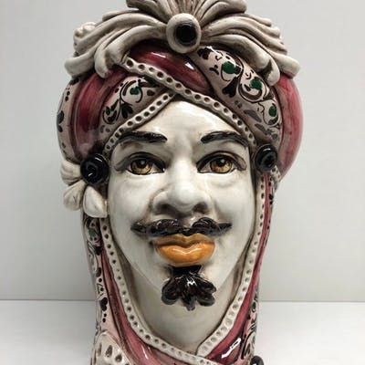 Caltagirone - Oggetto in ceramica - Ceramica