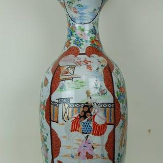 Monumentale japanische Vase - Arita - Porzellan - Shogun