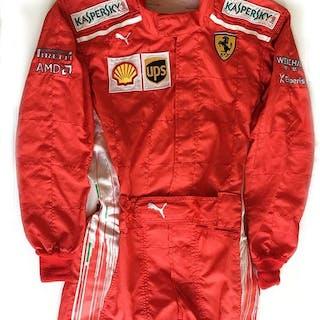 Rare Ferrari F1 Puma - Formula One - Vettel & Raikkonen - 2018 - Mechanics Suit