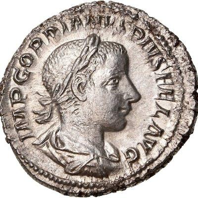 Empire romain - Denier, Gordien III (238-244). Rome - Diana - Argent