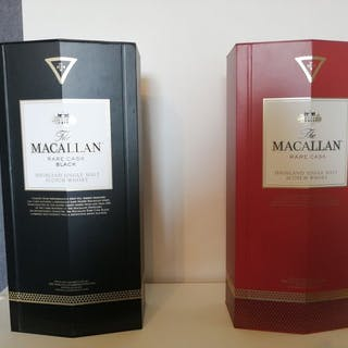 Macallan Rare Cask Black & Rare Cask Red- 0,7 l - 2 flaschen