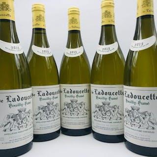 """2015 Pouilly Fumé """"de Ladoucette""""- Chateau de Nozet..."""
