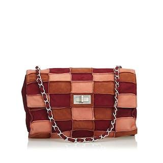 7ecbc60c2 Chanel - Reissue Patchwork Suede Flap Bag Shoulder bag