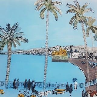 Raoul Dufy - La Baie des Anges à Nice