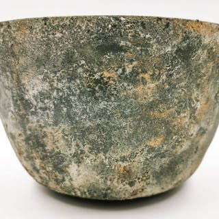 Ancient Etruscan Bronze Bowl