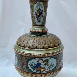 Mettlach - Villeroy & Boch - Vase - Porcelain, Stoneware