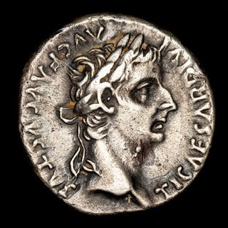 Imperio Romano - Denarius - Tiberius (A.D